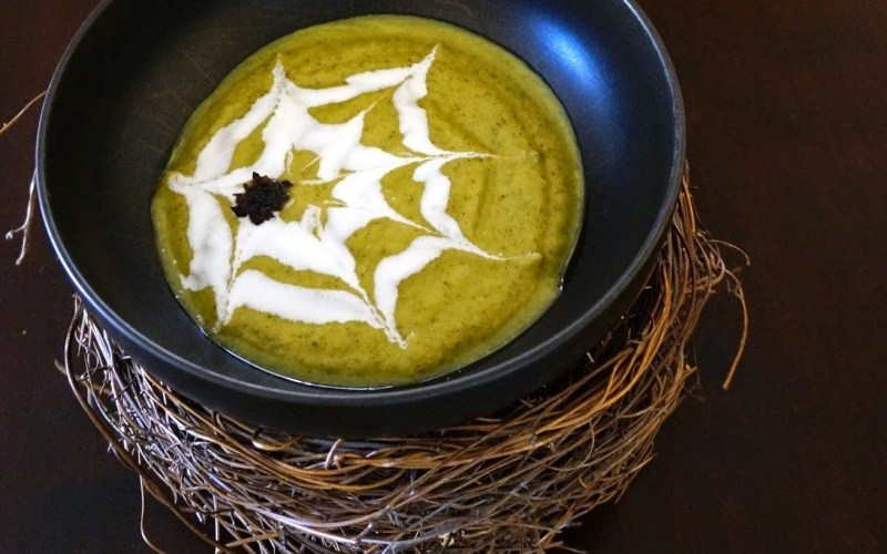 Spooky Soup: Cottage Zucchini + Cannellini