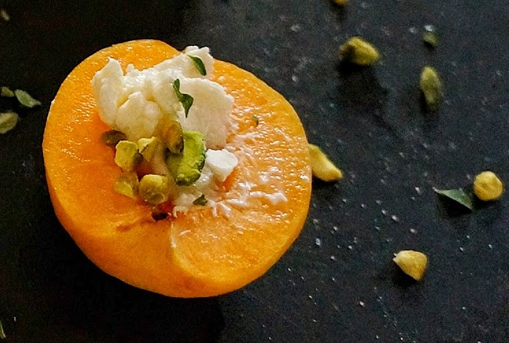Apricots Stuffed with Cheese and Pistachios: A Guest Post by Cookbook Author Greg Henry