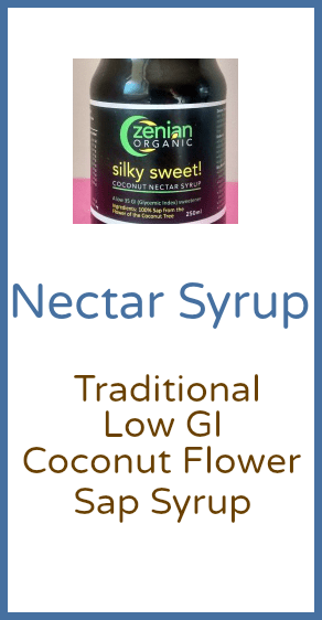 Coconut Nectar Syrup Product Category