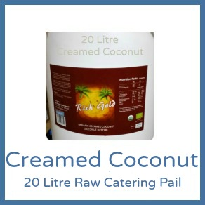 Coconut Butter Creamed Coconut 20 Litre