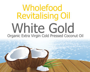 Organic Raw Virgin Coconut Oil |Wholefood Revitalising Oil