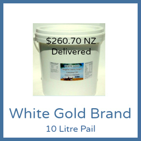 Cold Pressed Range - 10L White Gold