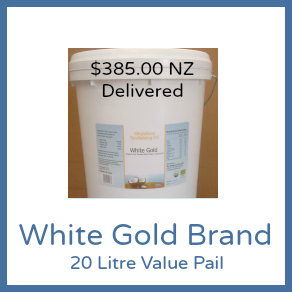 Cold Pressed Range - 20L White Gold