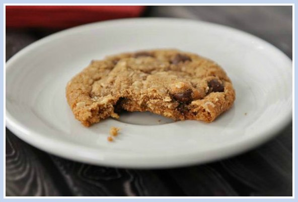 Whole Wheat Coconut Oil Oatmeal Cookies
