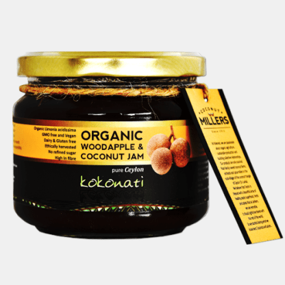 Organic Woodapple Coconut Jam 330g Jars