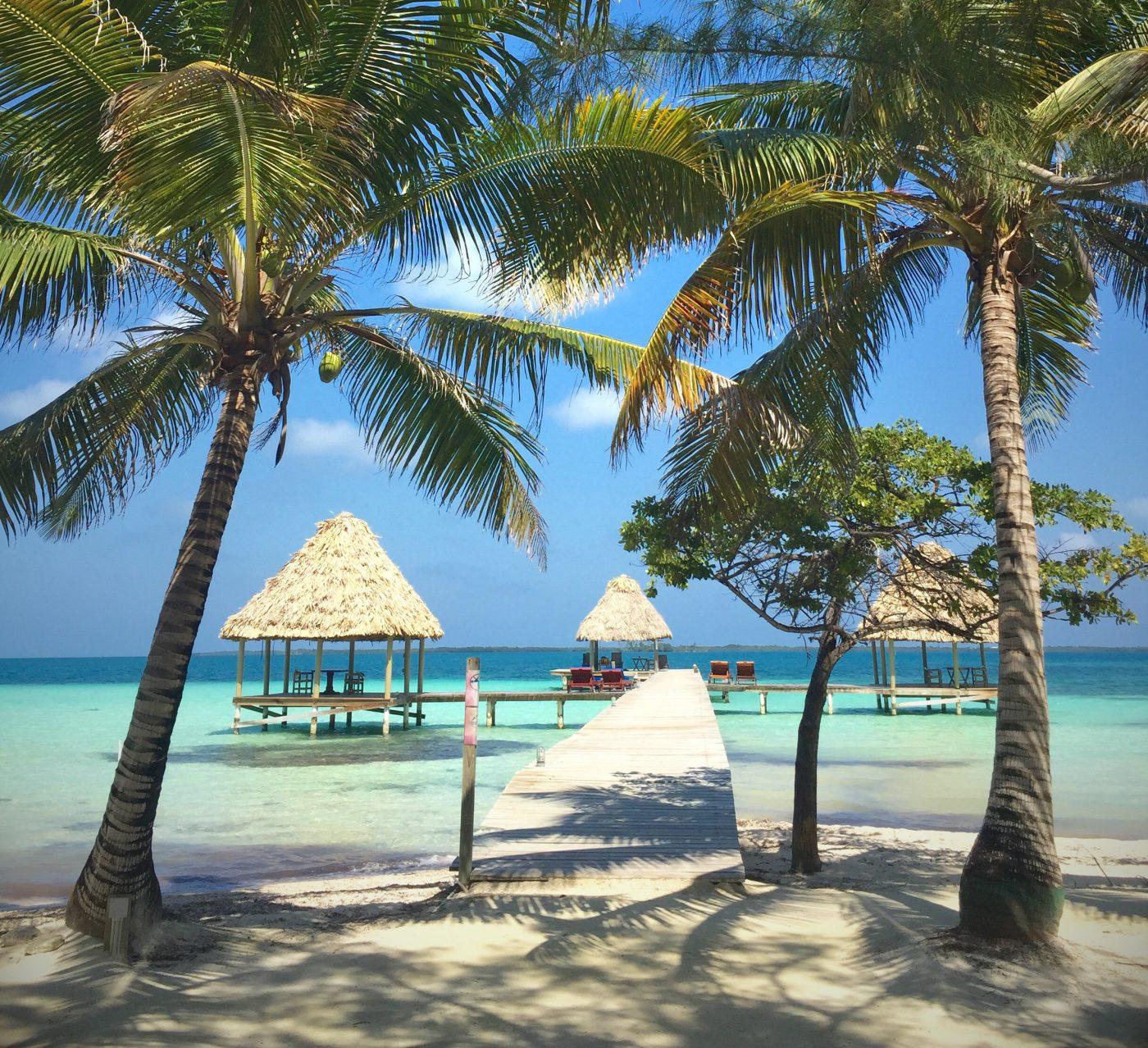 Belize private island getaway