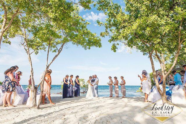 belize featured wedding