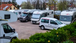 Wohnmobilpark Trautmann - Übernachtungsplatz während der Städtetour