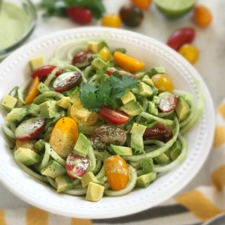 Cucumber Salad w/Cilantro Lime Dressing