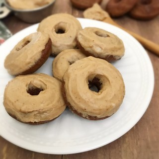 Paleo Donuts w/Maple Glaze