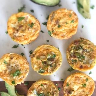 Chorizo & Egg Bake Bites {paleo, Whole 30}