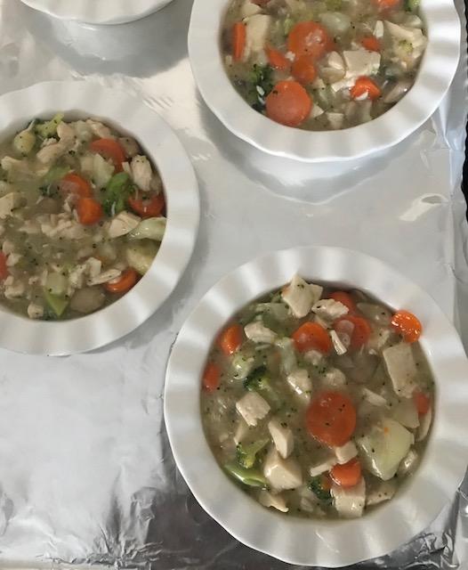 Paleo Chicken & Veggie Pot Pies