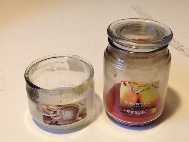 DIY candle jar