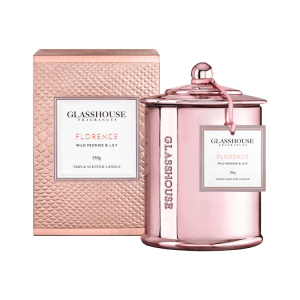 Florence the special edition Glasshouse candle for Mother's Day