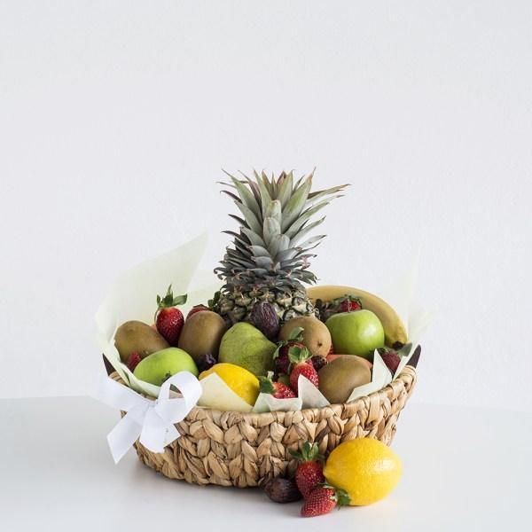 Fruit Hamper with seasonal fruit