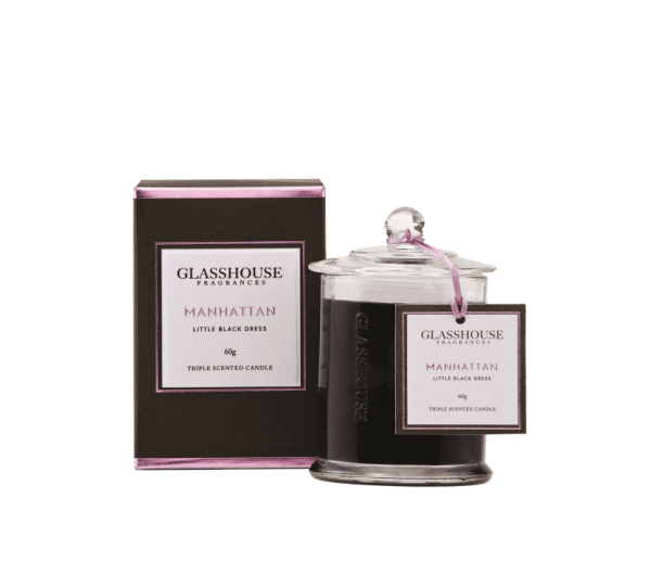 Manhattan 60g Glasshouse Candle