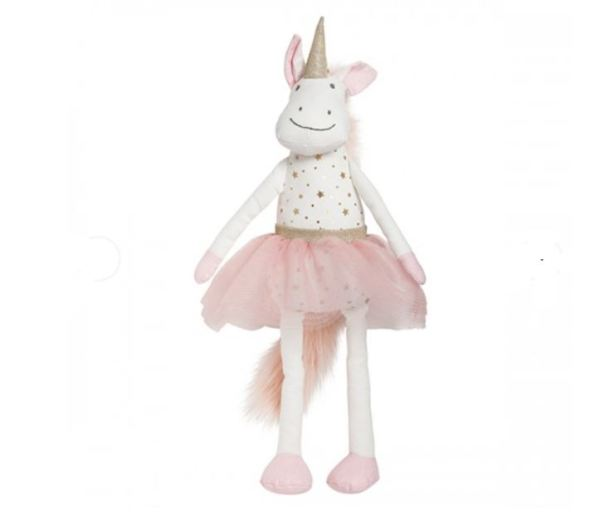 Lily & George Celeste Unicorn toy - perfect for new baby presents