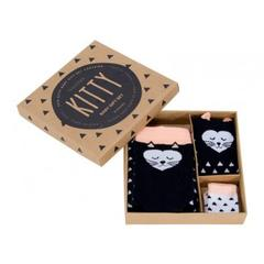 Cute gift set of tights and socks - Kitty design
