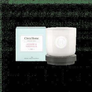 jasmine and magnolia mini candle