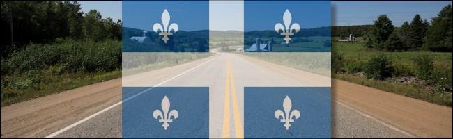Route au Québec