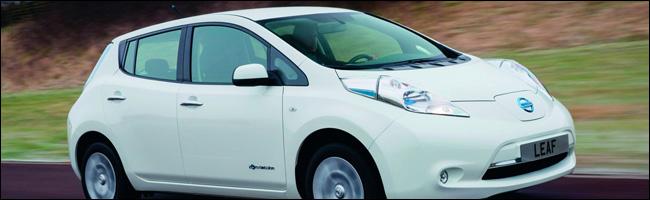 Enorme succès de la leaf de Nissan en Norvège