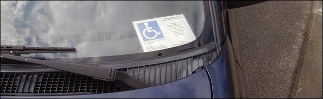 Stationnement des personnes handicapées