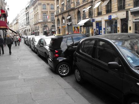 stationnement difficile dans les grandes villes