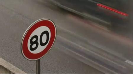 Limiter les routes à 80 hm/h