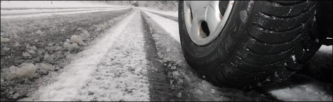 Conduite sur routes enneigées