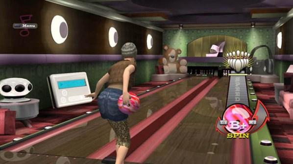 High Velocity Bowling Scene