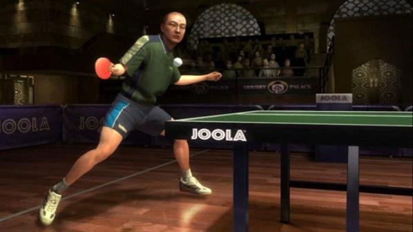 Rockstar Table Tennis Scene
