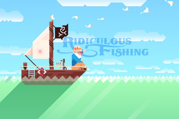 Ridiculous Fishing Logo
