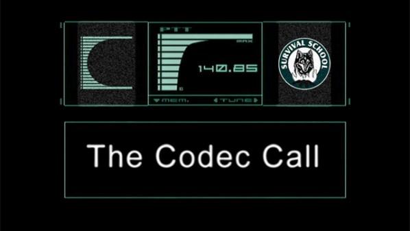 The Codec Call April 2014 Survival School