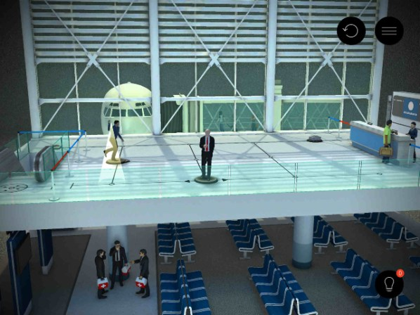 Hitman Go Airport