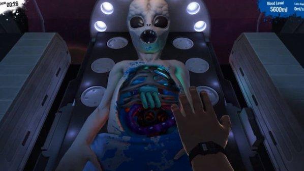 Surgeon Simulator Alien