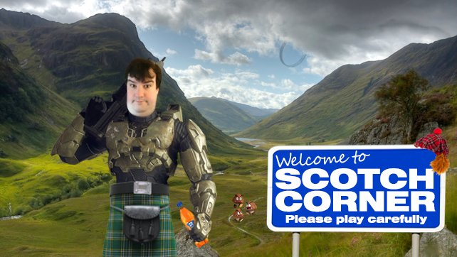 Scotch Corner - On-Rushing Headlong Into Battle