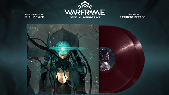 Warframe Vinyl Courtesy of iam8bit