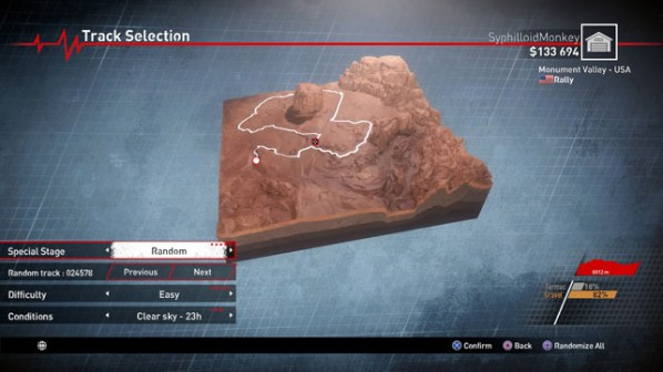 V-Rally 4 Map Generator