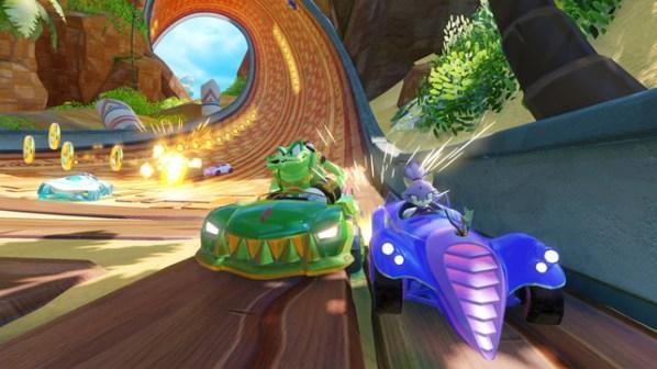 Team Sonic Racing Croc