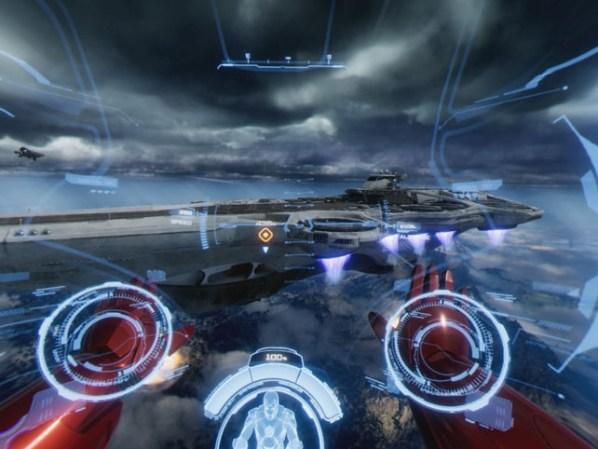 Marvel's Iron Man VR Helicarrier