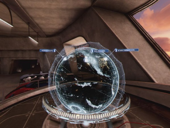 Marvel's Iron Man VR Globe