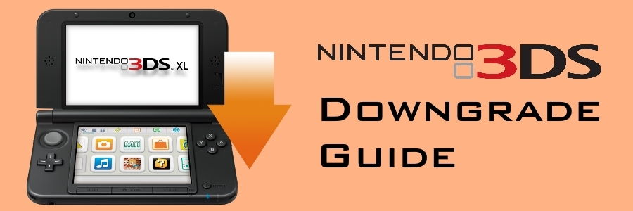 Downgrade your 3DS to 9 2 0 | Code Donut
