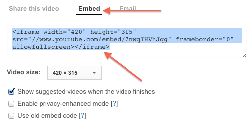 Learn How To Embed YouTube Videos