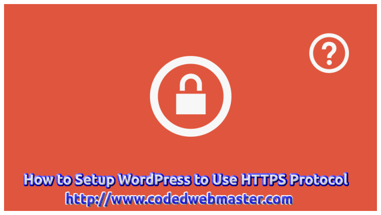 How to Setup WordPress to Use HTTPS Protocol