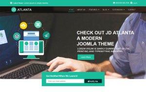 JD Atlanta free Joomla template