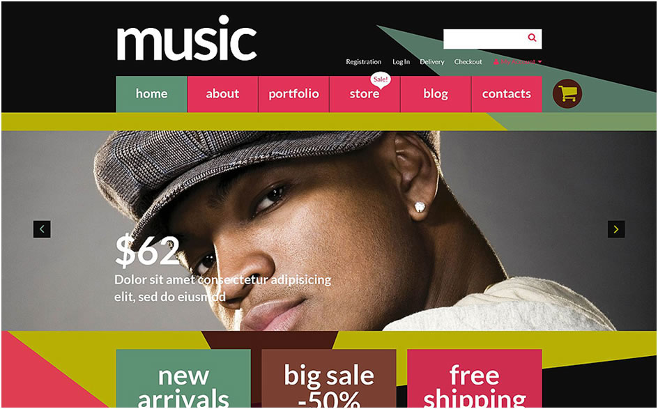 Music Store WooCommerce Theme2