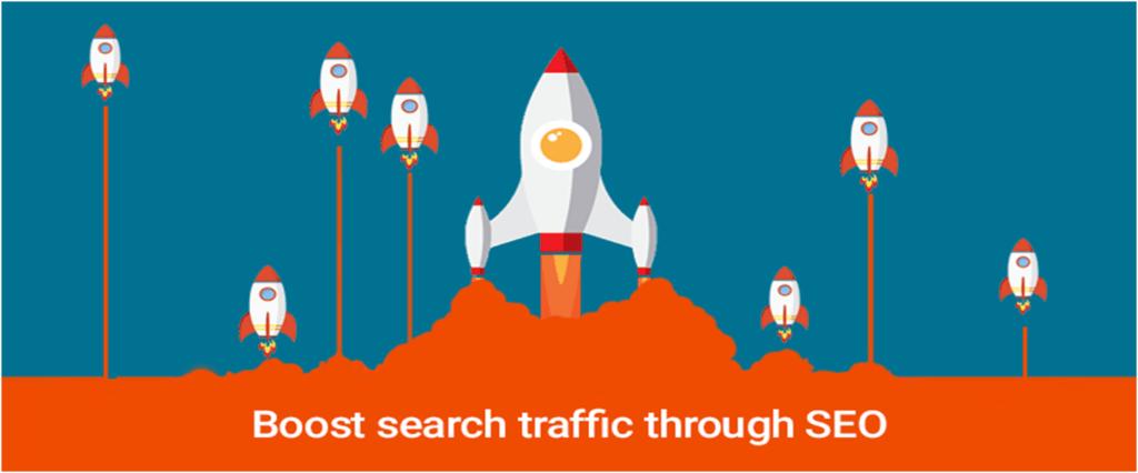 Booast Search Traffic Through SEO