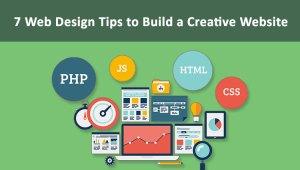 7 Web Design Tips to Build a Creative Website