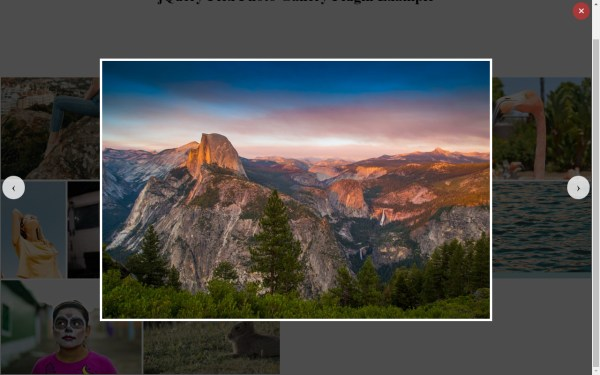 Justified Grid Layout Image Gallery / jQuery Flex Photo ...