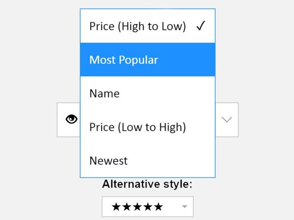 Custom Select Box with jQuery and CSS - Pretty Dropdowns ...